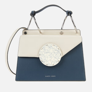 Danse Lente Women's Phoebe Bis Bag - Milk/Steel Blue