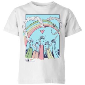 Cash For Kids Charity Kids' T-Shirt - White