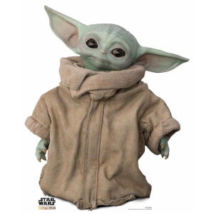 The Mandalorian - The Child Baby Yoda Head Tilt Mini Cardboard Cut Out