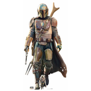 Figura de cartón XL Pistolero Solitario Star Wars The Mandalorian