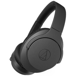 Audio Technica Wireless Noise Cancelling Headphones - Black