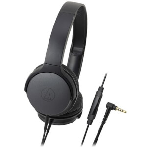 Audio Technica Portable On Ear Headphones - Black