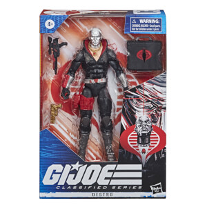 Hasbro G.I. Joe Classified Series Destro Action Figure 6 Inch