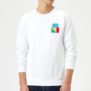 Pusheen Square Sweatshirt - White
