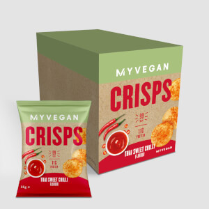 Popped Protein Crisps