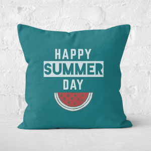Happy SUmmer Day Square Cushion