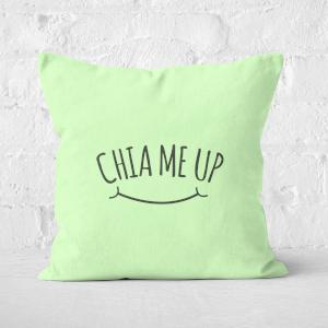 Chia Me Up Square Cushion