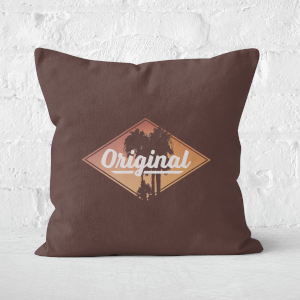 Original Palm Trees Square Cushion