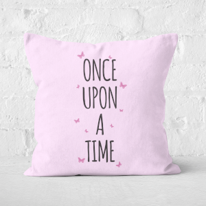 Once Upon A Time Square Cushion