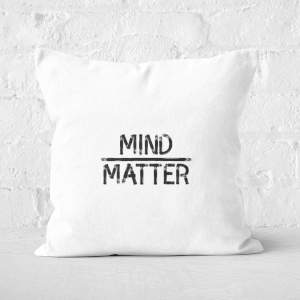 Mind Over Matter Square Cushion