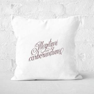 Illegitimi Square Cushion