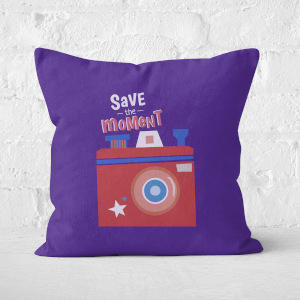 Save The Moment Square Cushion