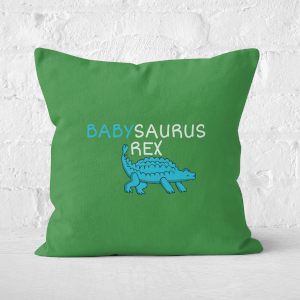 Babysaurus Rex Square Cushion