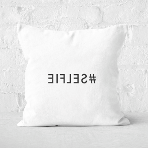 Mirror Selfie Square Cushion
