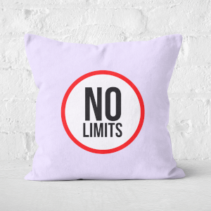 No Limits Square Cushion