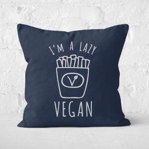 Lazy Vegan Square Cushion