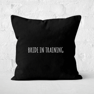 Bride In Training Square Cushion