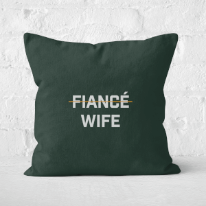 Fiance Wife Square Cushion