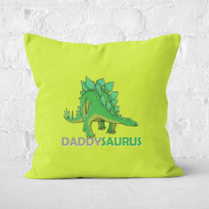 Daddysaurus Square Cushion