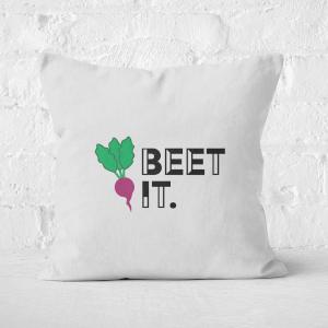 Beet It Square Cushion