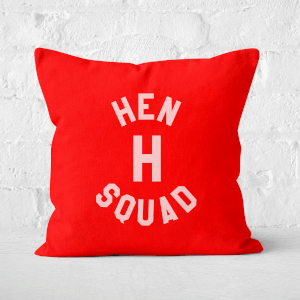 Hen 'H' Squad Square Cushion
