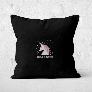 Believe In Yourself Square Cushion