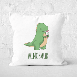 Winosaur Square Cushion