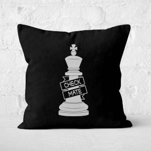 King Chess Piece Square Cushion