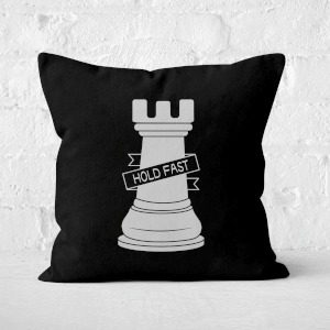 Rook Chess Piece Square Cushion
