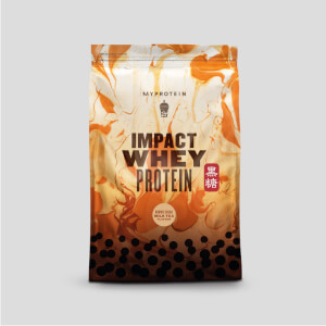 Impact Whey Protein, Brown Sugar Milk Tea