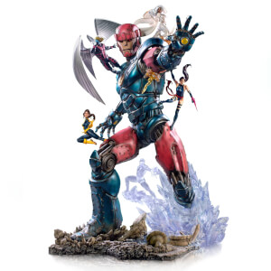 Iron Studios Marvel Comics BDS Art Scale Statue 1/10 X-Men vs Sentinel #3 Deluxe 87 cm