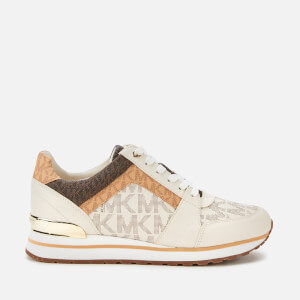 MICHAEL MICHAEL KORS Women's Billie Running Style Trainers - Cream Multi