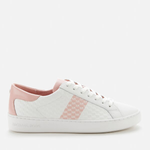 MICHAEL MICHAEL KORS Women's Colby Leather Cupsole Trainers - Smokey Rose