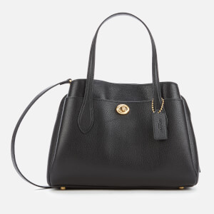 Coach Women's Lora Carryall 30 Tote Bag - Black