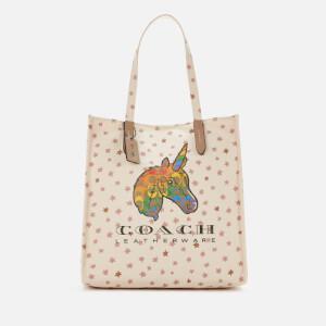 Coach Women's Pride Uni Canvas Tote Bag - Multi