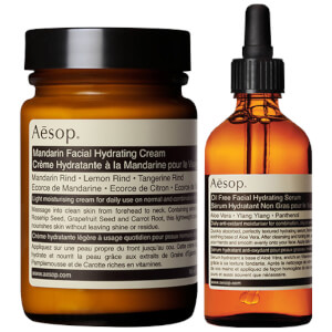 Aesop Mandarin Facial Cream and Lightweight Serum Duo