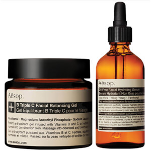 Aesop Lightweight Serum and Facial Balancing Gel Duo
