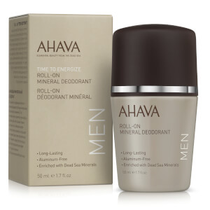 AHAVA Men's Roll-On Mineral Deoderant 50ml