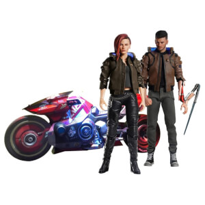 PureArts Cyberpunk 2077 1:6 V Male and Female with Yaiba Kusanagi Ultimate Set