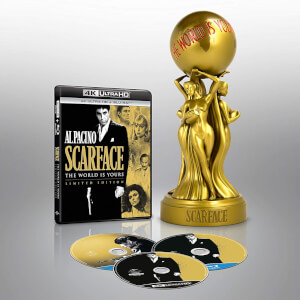 Scarface 1983 + Scarface 1932 Special Edition with Statue