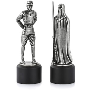 Royal Selagnor Star Wars Pewter Chesspiece - Imperial Officer and Red Guard (Bishop/Knight)