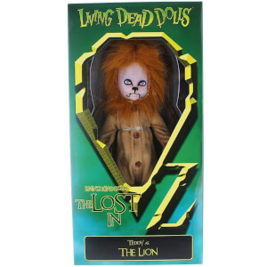 Mezco Living Dead Dolls - The Lost in OZ Exclusive Emerald City Variant - The Lion