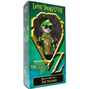 Mezco Living Dead Dolls - The Lost in OZ Exclusive Emerald City Variant - The Tin Man