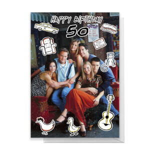 Friends Birthday 50th Greetings Card