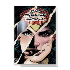 Wonder Woman International Women's Day Greetings Card