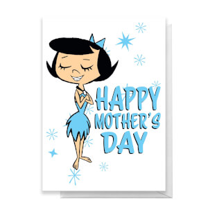 Flintstones Happy Mother's Day Greetings Card