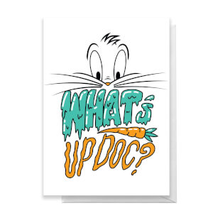 Looney Tunes What's Up Doc? Greetings Card