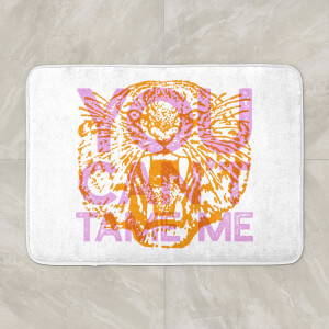 You Can't Tame Me Bath Mat