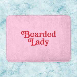 Bearded Lady Bath Mat