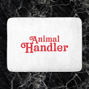 Animal Handler Bath Mat